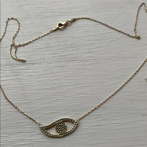 Jewelry - Evil eye necklace 925